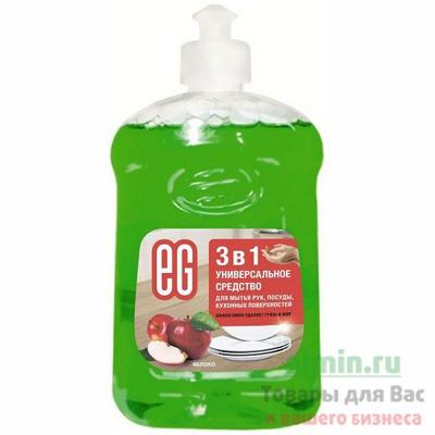 Купить средство моющее для посуды 500мл eg яблоко еврогарант 1/20 в Москве
