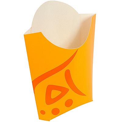 Купить упаковка для картофеля фри дхшхв 83х34х133 мм с дизайном whizz картонная huhtamaki 1/500 в Москве
