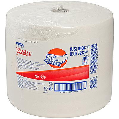 Купить материал протирочный бумажный 1-сл 255 м в рулоне н310хd360 мм wypall l40 белый kimberly-clark 1/1 (арт. 7452) в Москве