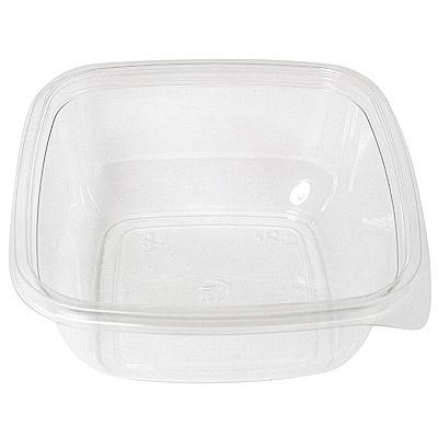 Купить контейнер 875мл дхшхв 160х160х69 мм без крышки квадратный pet прозрачный сп 1/75/450 в Москве