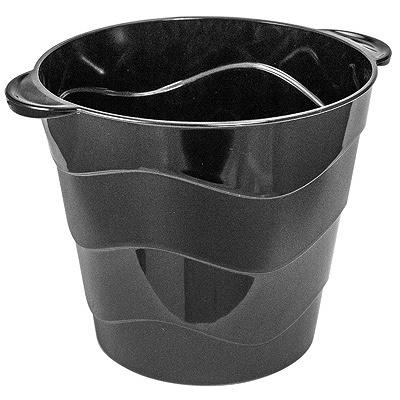 Купить ведерко для льда н150хd165 мм пластик черное bora 1/24 в Москве