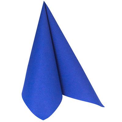 Купить салфетка бумажная синяя 25х25 см 2-сл 50 шт/уп mapelor 1/63 в Москве