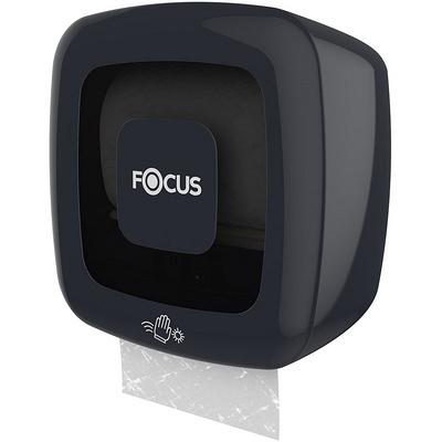 Купить диспенсер сенсорный для рулонных полотенец дхшхв 330х223х327 мм focus пластик черный hayat 1/1 182348 (арт. 8076281) в Москве