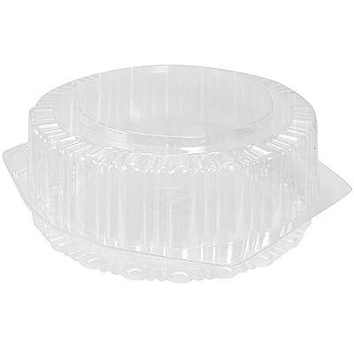 Купить упаковка кондитерская (тортница) н89хd241 мм на 0,8 кг круглая с неразъемной крышкой ops к 1/200 в Москве