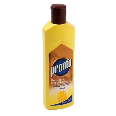 Купить полироль жидкий 300мл pronto лимон scj 1/12 в Москве