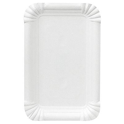 Купить тарелка бумажная дхш 160х100 мм эко картон белый papstar 1/250/2000 (арт. 11050) в Москве