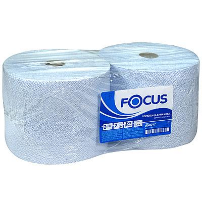 Купить полотенце бумажное 2-сл 350 м в рулоне*2 н240хd225 мм focus jumbo industrial hayat 1/1 (арт. 5043342) в Москве