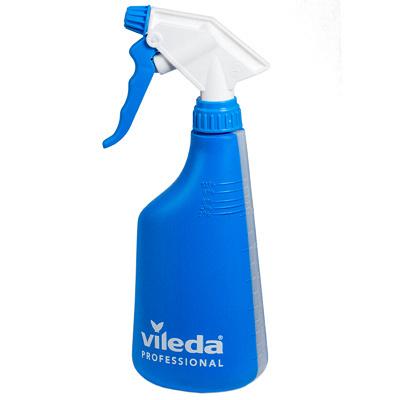 Купить бутылка пластиковая 600мл с распылителем синяя vileda 1/1 (арт. 158213) в Москве