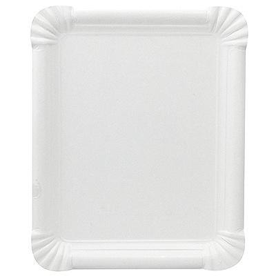 Купить тарелка бумажная дхш 200х165 мм эко картон белый papstar 1/250/500 (арт. 11071) в Москве
