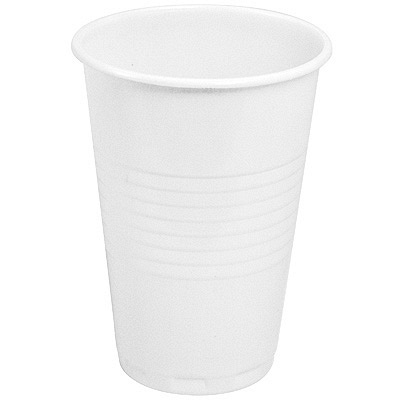 Купить стакан пластиковый 200мл d70 мм pp белый интеко 1/200/4000 в Москве