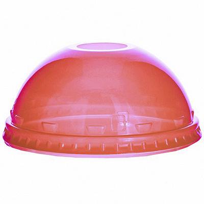 Купить крышка купольная d95 мм с отверстием для соломки pet красная vgo 1/100/800 в Москве