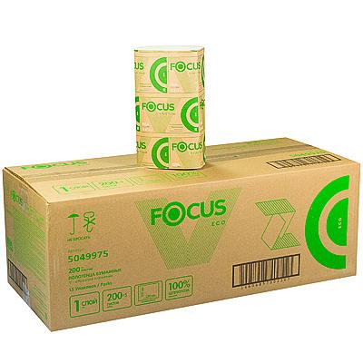 Купить полотенце бумажное листовое 1-сл 200 лист/уп*15 230х210 мм v-сложения focus eco белое hayat 1/1 (арт. 5049975) в Москве