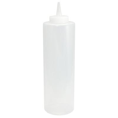 Купить дозатор 350мл для соуса пластик прозрачный 1/1 в Москве
