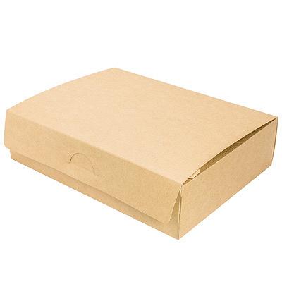 Купить упаковка 1900мл дхшхв 215х165х55 мм крафт gdc 1/50/300 в Москве