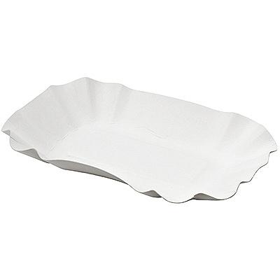 Купить тарелка бумажная дхшхв 90х140х30 мм глубокая эко картон белый papstar 1/250/1500 (арт. 11303) в Москве