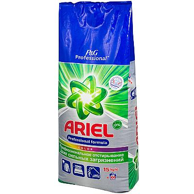 Купить порошок стиральный 15кг ariel automat color в п/п p&g 1/1 в Москве