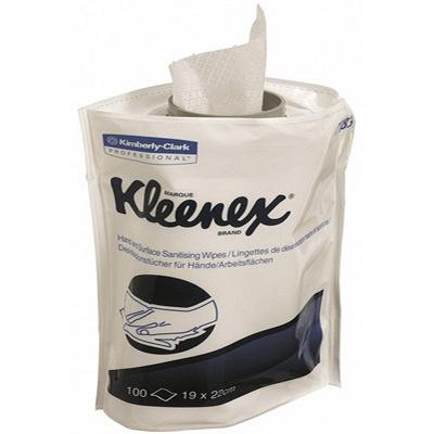 Купить салфетка влажная дезинфицирующая 100 шт/уп для диспенсера kleenex сменный блок kimberly-clark 1/6 (арт. 7783) в Москве