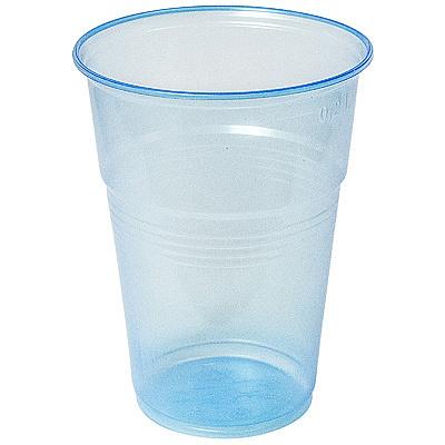 Купить стакан пластиковый 200мл d70 мм pp голубой н 1/100/4200 в Москве