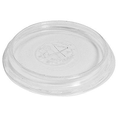 Купить крышка плоская d85 мм с отверстием для соломки pet прозрачная duni 1/100/1000 в Москве