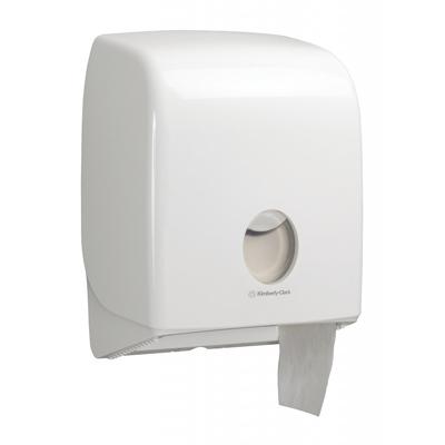 Купить диспенсер для туалетной бумаги дхшхв 312х250х150 мм aquarius mini jumbo пластик белый kimberly-clark 1/1 (арт. 6958) в Москве