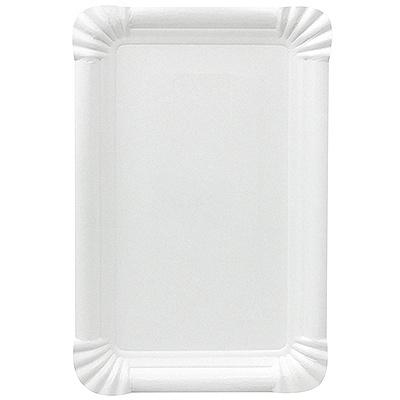 Купить тарелка бумажная дхш 200х130 мм эко картон белый papstar 1/250/1000 (арт. 11062) в Москве