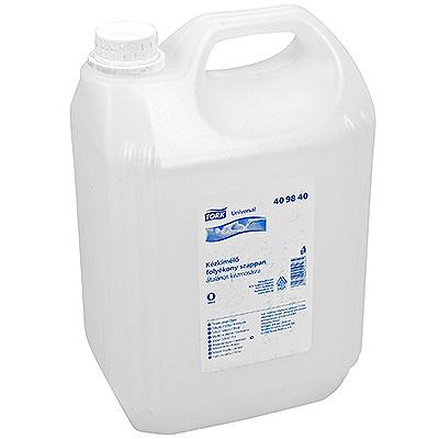 Купить крем-мыло жидкое 5л перламутровое tork universal канистра sca 1/1 (арт. 409840) в Москве