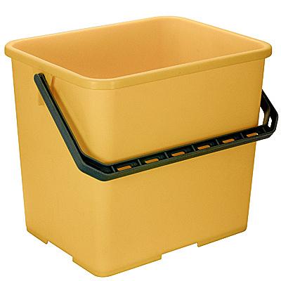 Купить ведро 6л прямоугольное пластик желтое vileda 1/10 (арт. 500433) в Москве