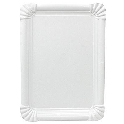 Купить тарелка бумажная дхш 230х165 мм эко картон белый papstar 1/250/500 (арт. 11074) в Москве