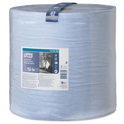 Купить материал протирочный бумажный 3-сл 255 м в рулоне н369хd390 мм tork синий sca 1/1 (арт. 130080) в Москве