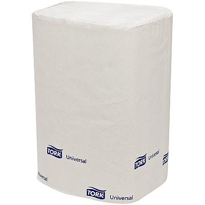 Купить салфетка бумажная 1-сл 225 шт/уп 216х330 мм для диспенсера tork universal белая sca 1/5/40 (арт. 10840) в Москве