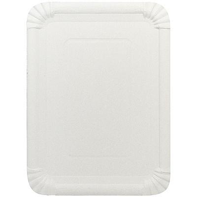 Купить поднос сервировочный дхш 290х215 мм прямоугольный картон белый papstar 1/250 (арт. 11086) в Москве