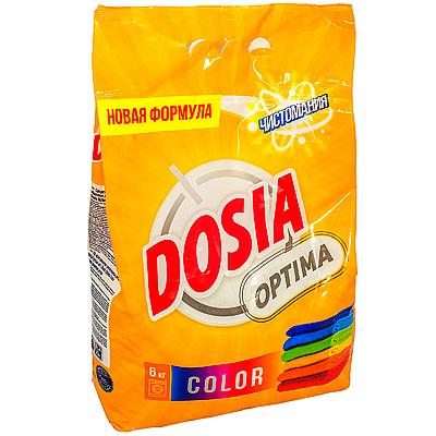Купить порошок стиральный 6кг dosia optima color в п/п benckiser 1/3 в Москве