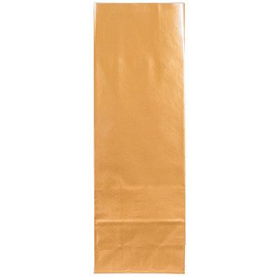 Купить пакет бумажный дхшхв 70х40х210 мм ламинированный с прямоугольным дном золотистый