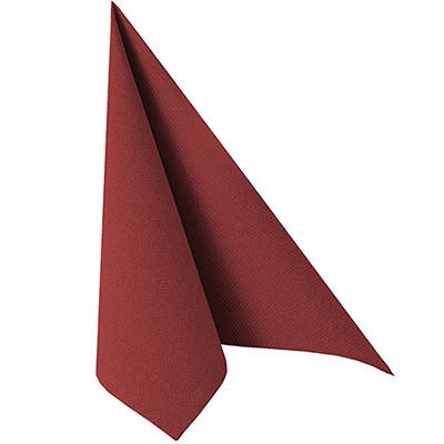 Купить салфетка бумажная бордовая 40х40 см 1-сл 50 шт/уп royal papstar 1/5 (арт. 11608) в Москве