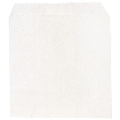 Купить пакет бумажный дхв 110х120 мм жиростойкий для картофеля фри с плоским дном белый 1/100/10000 в Москве