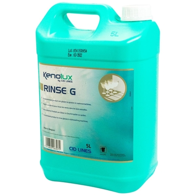 Купить ополаскиватель для посудомоечных машин 5л kenolux rinse g для посуды из стекла концентрат канистра cid lines 1/4 в Москве