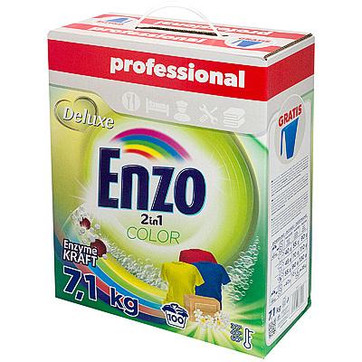 Купить порошок стиральный 7.1кг delux color универсальный enzo 1/1 в Москве