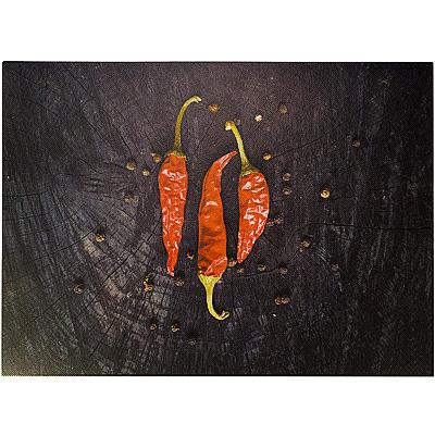 Купить подставка под горячее/термо-салфетка кухонная (плейсмат) дхш 400х300 мм nature острый перчик pp mapelor 1/12/792 в Москве
