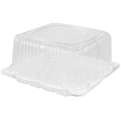 Купить упаковка кондитерская (тортница) дхшхв 248х248х125 мм на 1 кг квадратная дно+крышка к 1/190 в Москве