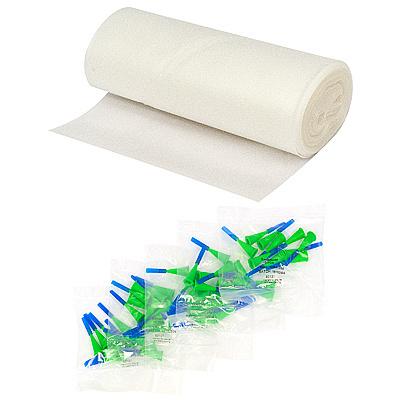 Купить мешок кондитерский одноразовый н210 мм 50 шт в рулоне с насадками для декорации прозрачный papstar 1/10 (арт. 87151) в Москве