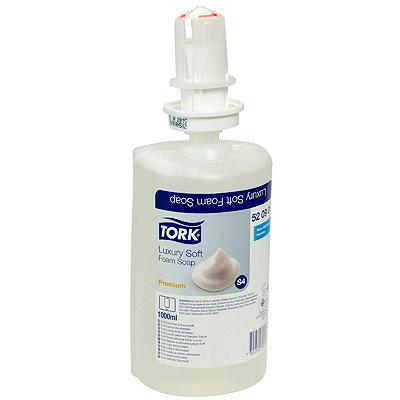 Купить мыло пенное 1л прозрачное tork s4 premium картридж для диспенсера sca 1/6 168002 (арт. 520901) в Москве