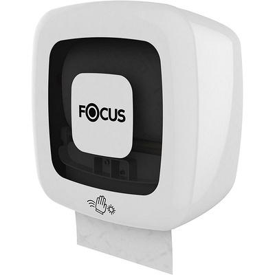 Купить диспенсер сенсорный для рулонных полотенец дхшхв 330х223х327 мм focus пластик белый hayat 1/1 (арт. 8077061) в Москве