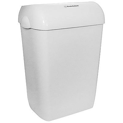 Купить корзина мусорная 60л дхшхв 422х290х569 мм aquarius пластик белая kimberly-clark 1/2 (арт. 6993) в Москве