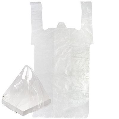 Купить пакет майка для коробок 380х700 мм 14 м км пнд прозрачный 1/100/1000 в Москве