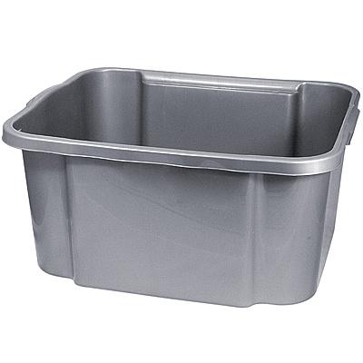 Купить ящик для хранения 38.4л дхшхв 510х420х245 мм без крышки пластик темно-серый bora 1/12 (арт. 455) в Москве