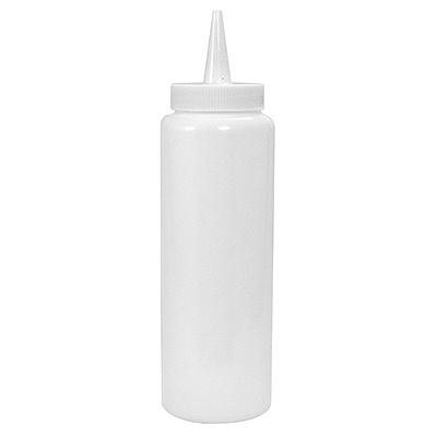 Купить дозатор 350мл для соуса пластик белый 1/1 в Москве