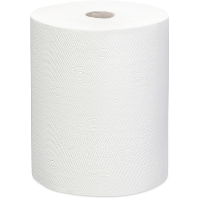 Купить полотенце бумажное 2-сл 150 м в рулоне н200хd170 мм focus extra quick белое hayat 1/6 (арт. 5050023) в Москве