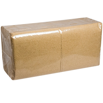 Купить салфетка бумажная крафт 24х24 см 1-сл 400 шт/уп папирус 1/18 в Москве