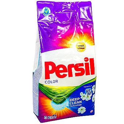 Купить порошок стиральный 6кг persil automat color свежесть vernel в п/п henkel 1/3 в Москве