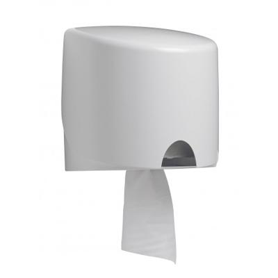 Купить диспенсер для полотенец с центр вытяжением дхшхв 280х230х330 мм aquarius пластик белый kimberly-clark 1/1 (арт. 7017) в Москве